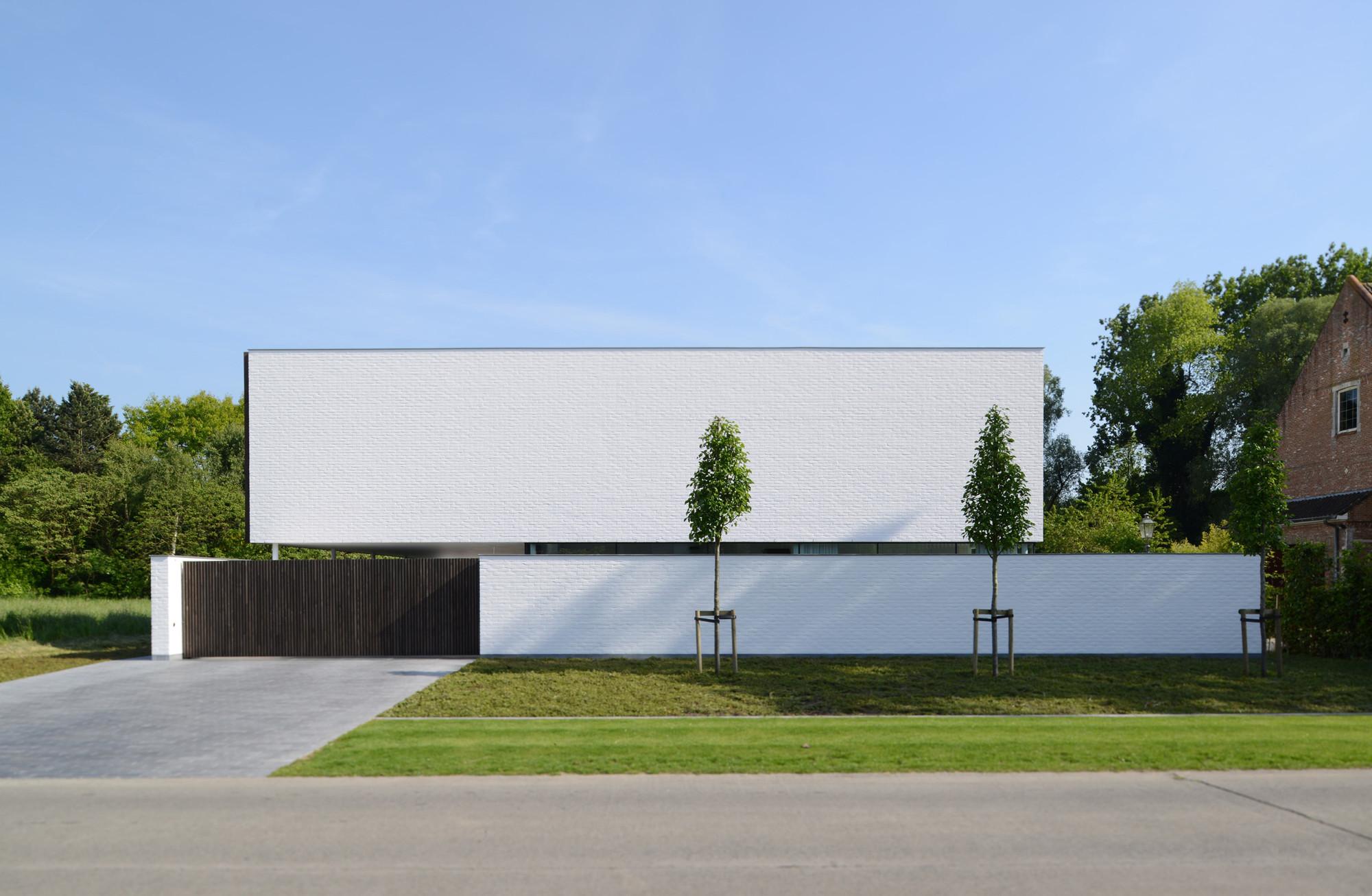 Villa GFR / DE JAEGHERE Architectuuratelier, © Hendrik Biegs