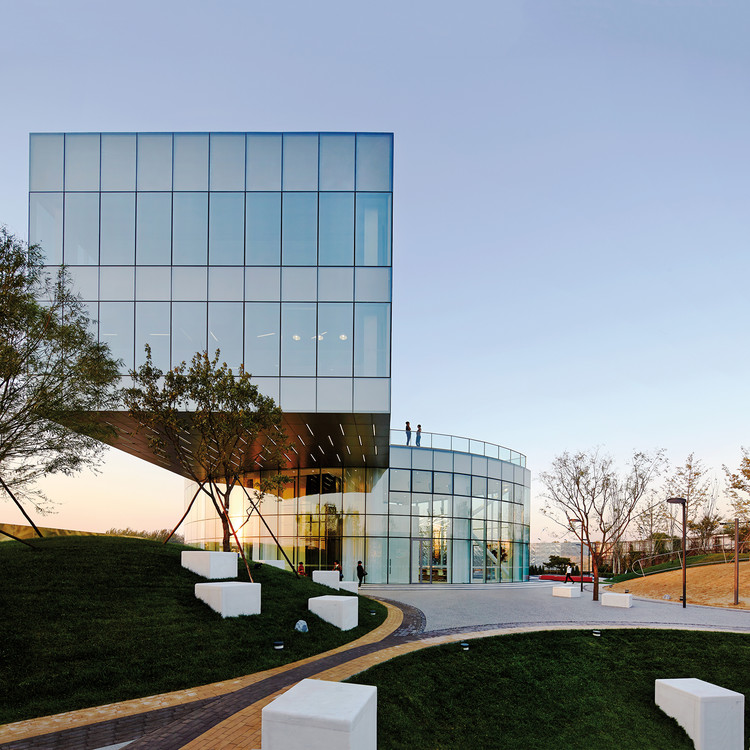 Galeria de Vendas Vanke Daxing / Spark Architects, © Shu He