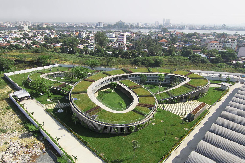 Jardim de Infância de Cultivo / Vo Trong Nghia Architects, © Gremsy