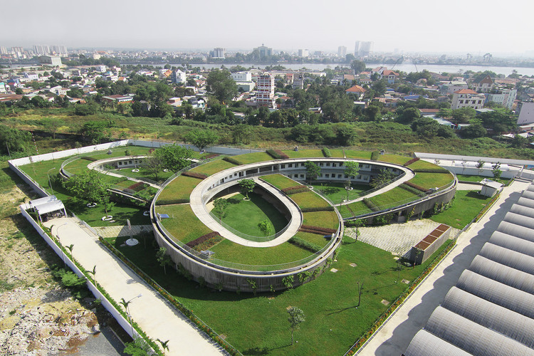 Jardín Infantil Farming / Vo Trong Nghia Architects, © Gremsy