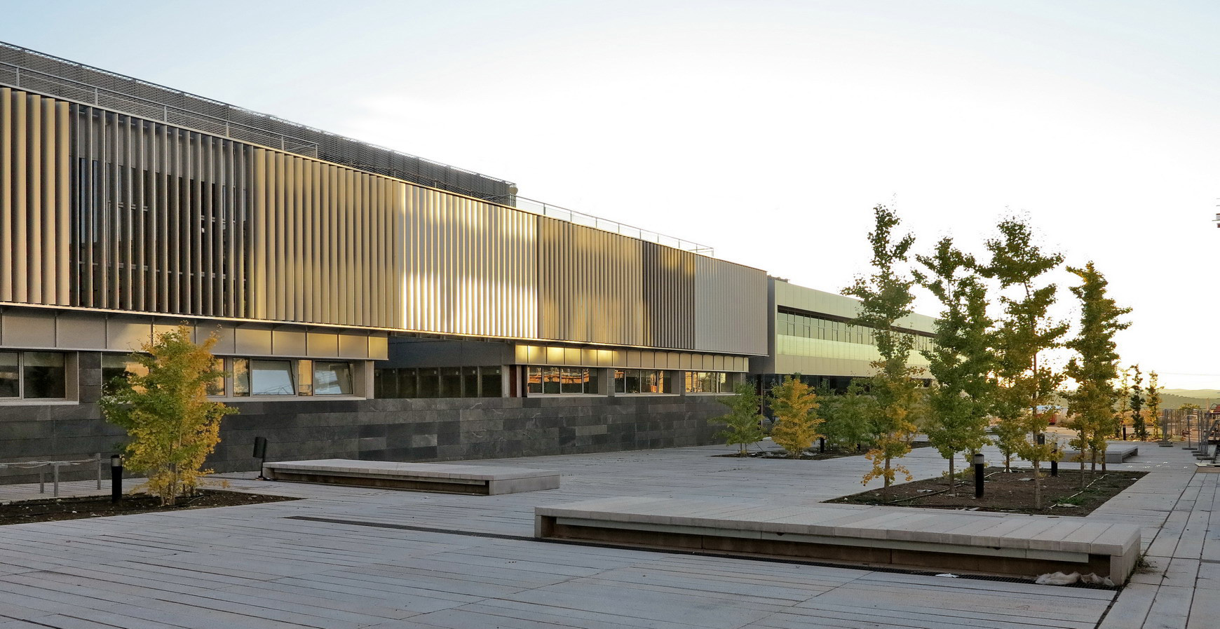 Gallery of university campus and science technology park for Universidades de arquitectura en espana