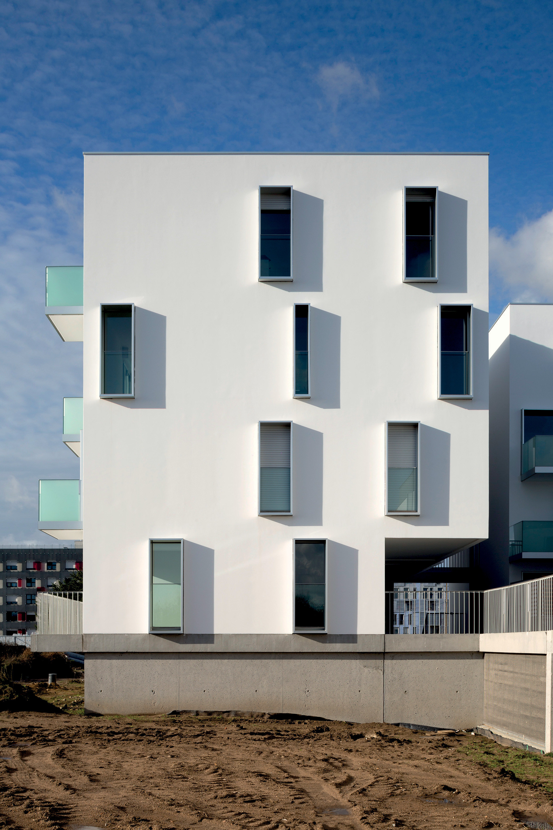 Gallery of canopia park housing babin renaud 10 for B architecture nantes