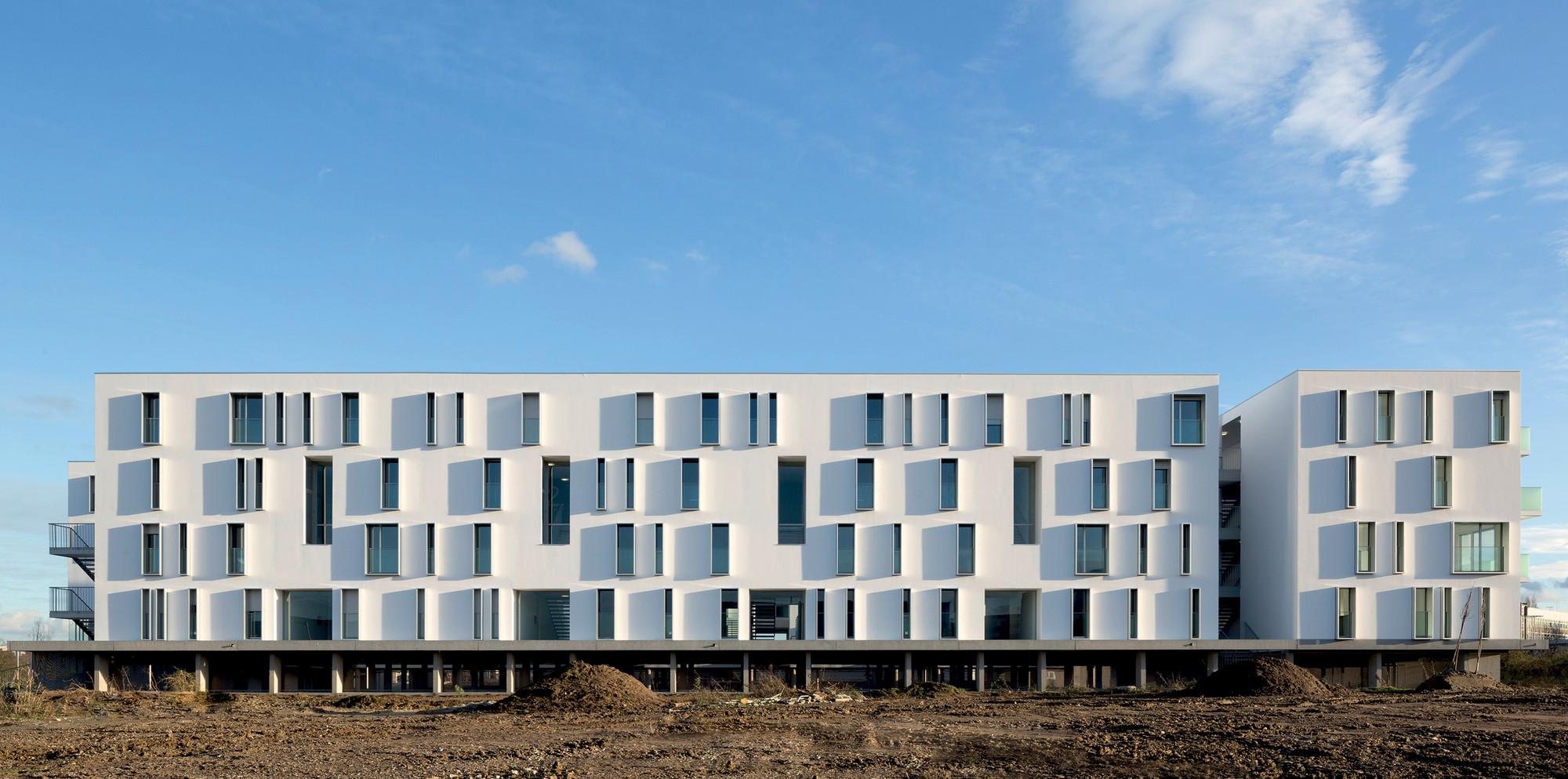 Canopia Park Housing / BABIN+RENAUD, © Cécile Septet