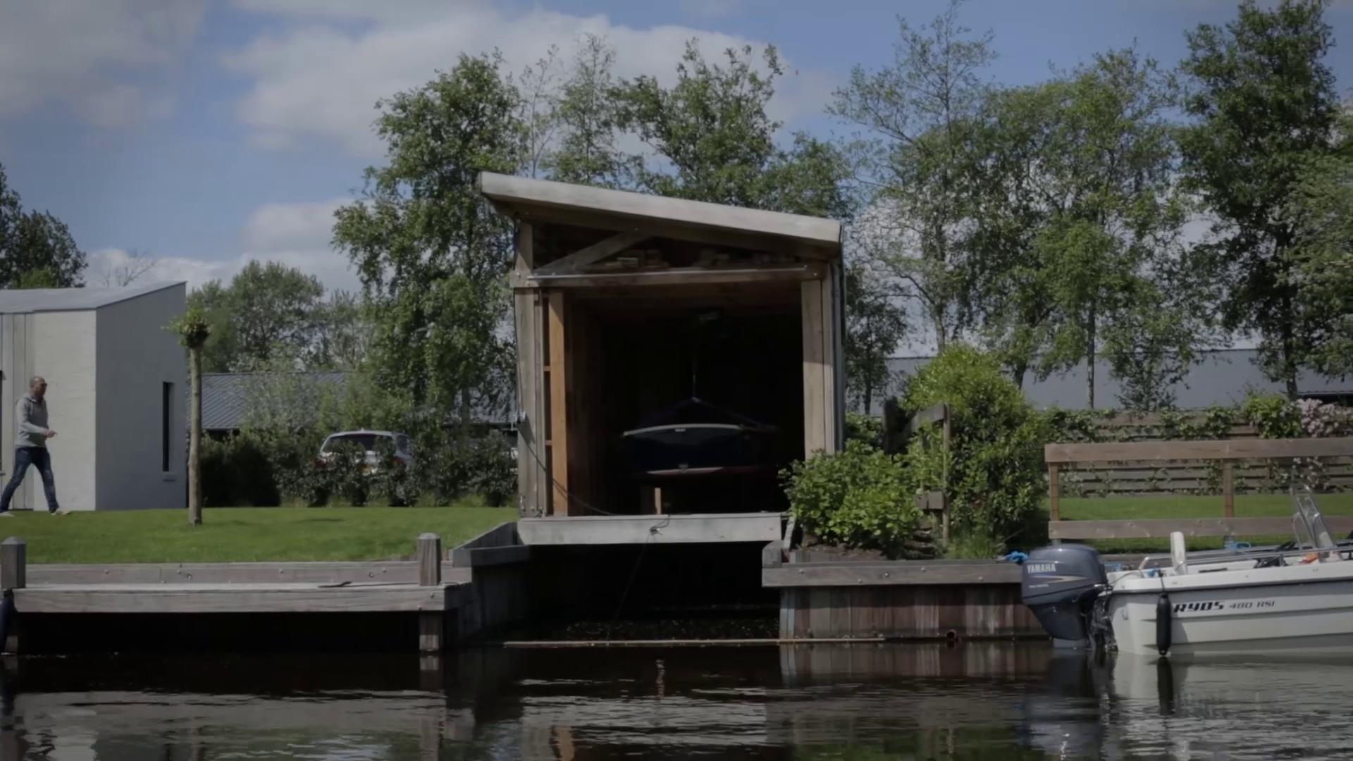 Galeria de video boathouse cobertizo en invierno y for M bel h ffner küchen