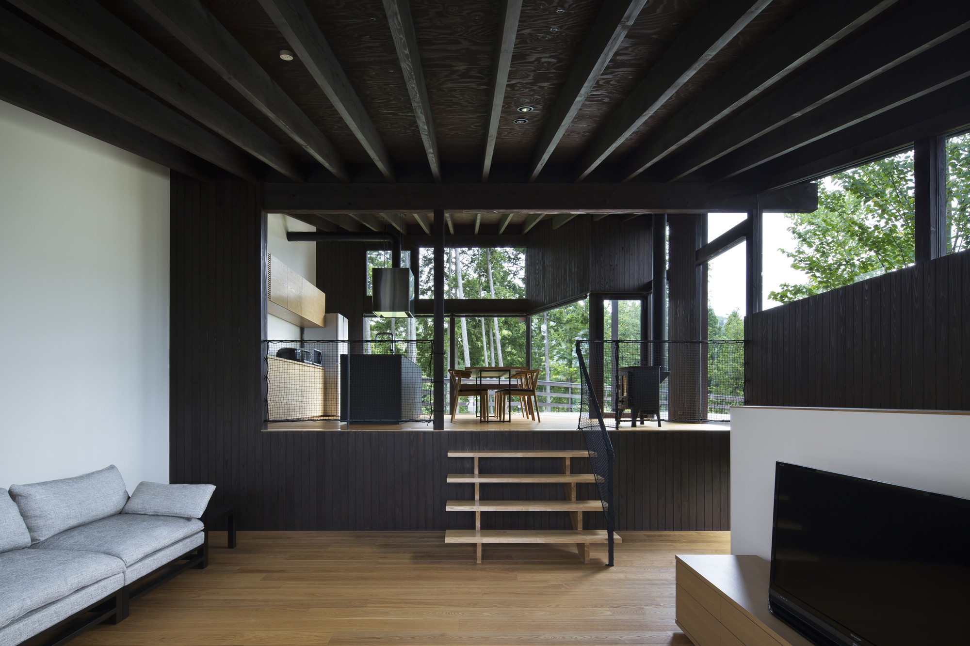 house in a house. house in sayo den nen architecture a