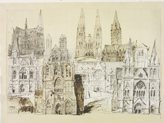 Designs for Truro Cathedral, 1878   Artist: William Burges. Image Courtesy of Victoria and Albert Museum, London