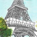 Torre Eiffel, Paris. Image Cortesia de Luís Simões
