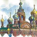 Catedral de São Basílio em Moscou. Image Cortesia de Luís Simões