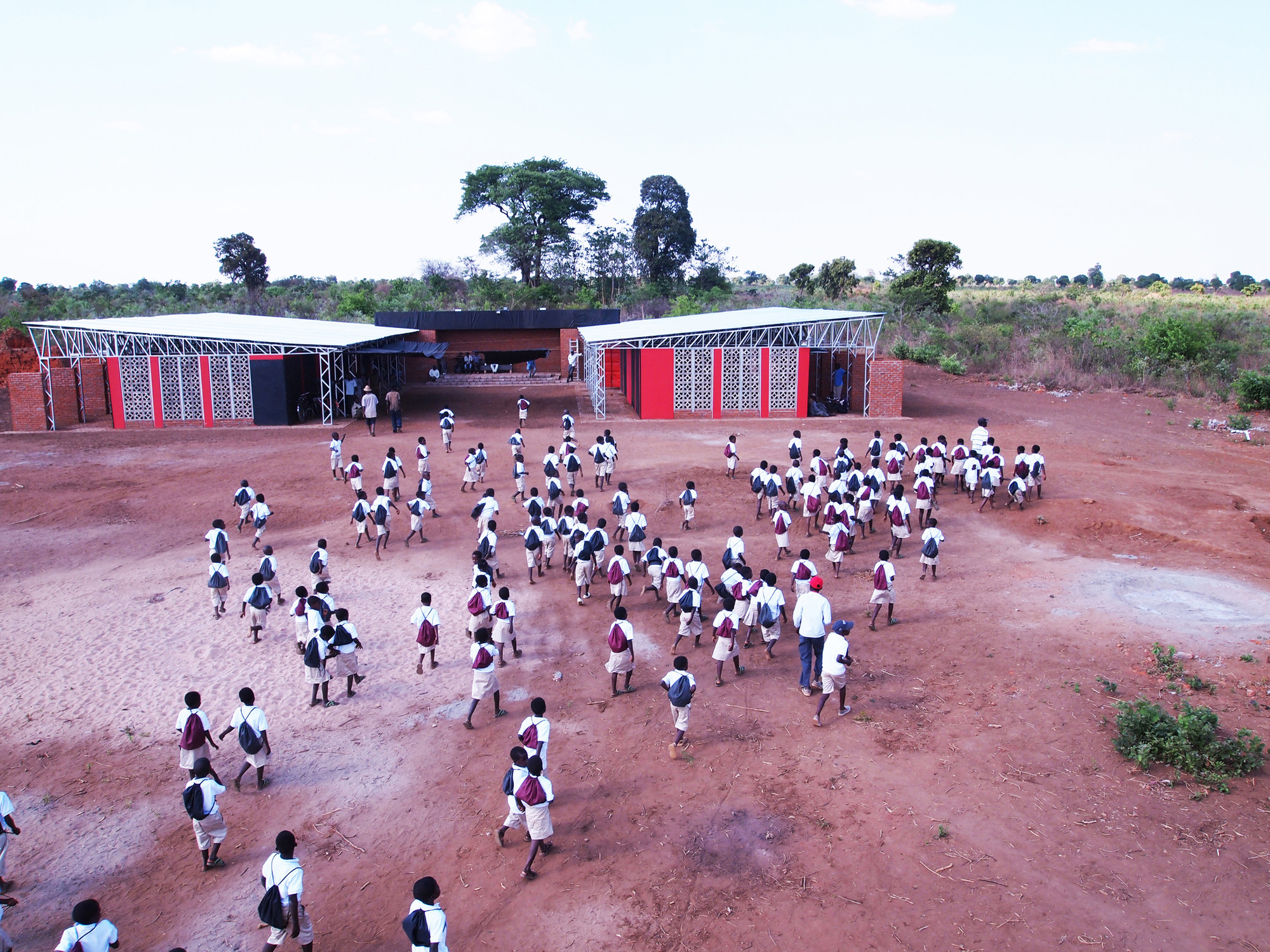 The Legson Kayira Community Center & Primary School / Architecture for a Change, Courtesy of Architecture for a Change