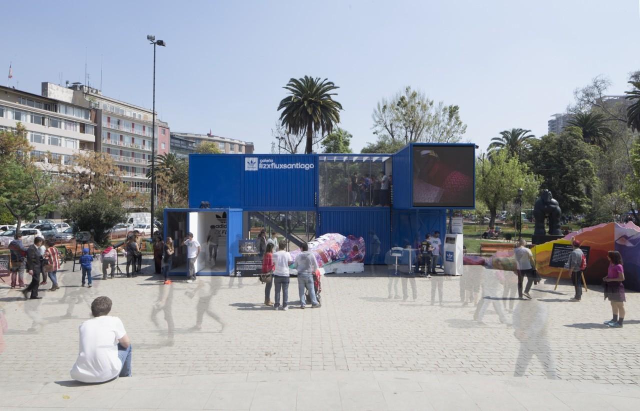 ZX FLUX Adidas Gallery / Arquitectos Asociados.lo, © Francisco Ibañez