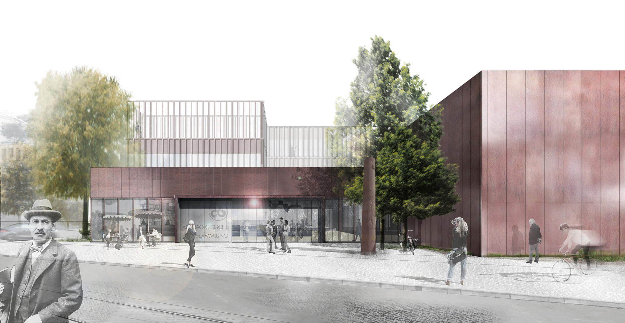 Nieto Sobejano Arquitectos restaurará y ampliará el Museo Arqueológico de Múnich, © Nieto Sobejano Arquitectos