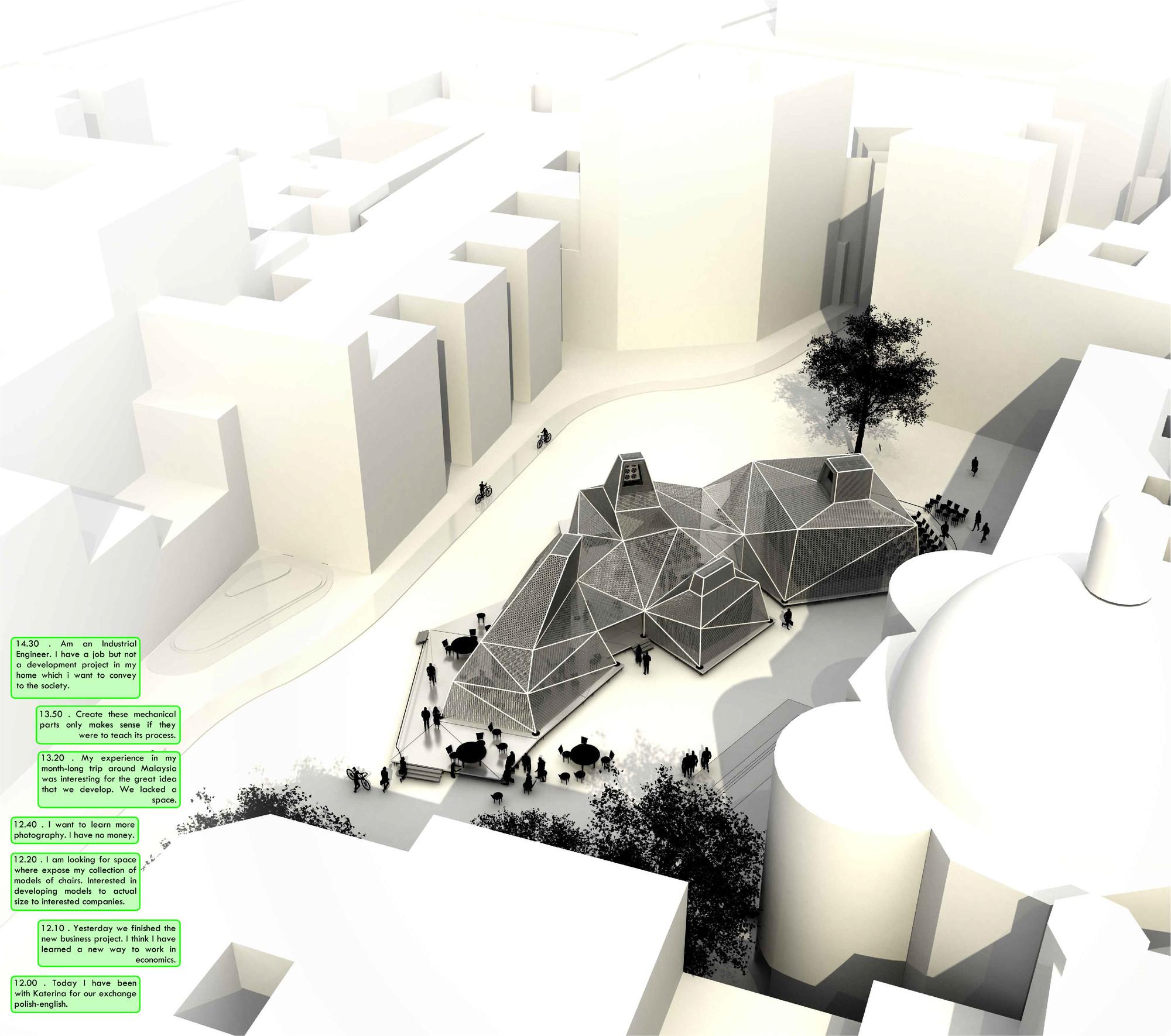 Tangram, Primer Lugar en Holcim Awards Next Generation Europe 2014 / España, Cortesia de DAT Pangea