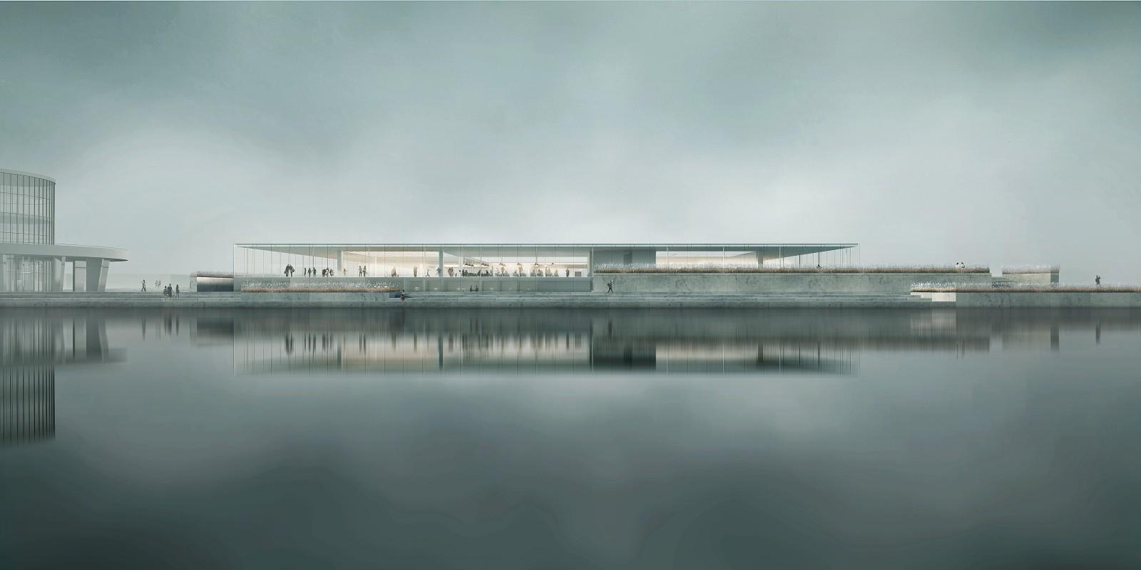 Propuesta para un nuevo acuario en Gdynia de Mikolai Adamus, © Mikolai Adamus