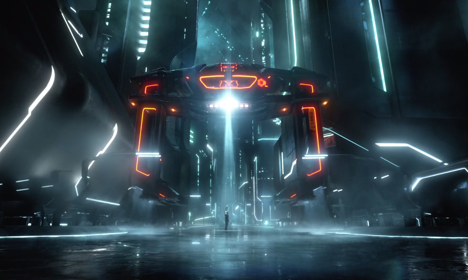 "Cine y Arquitectura: ""Tron, Legacy"""