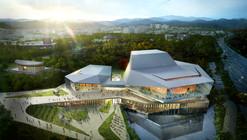 designcamp moonpark dmp vence concurso para projetar o Asan Cultural Arts Center