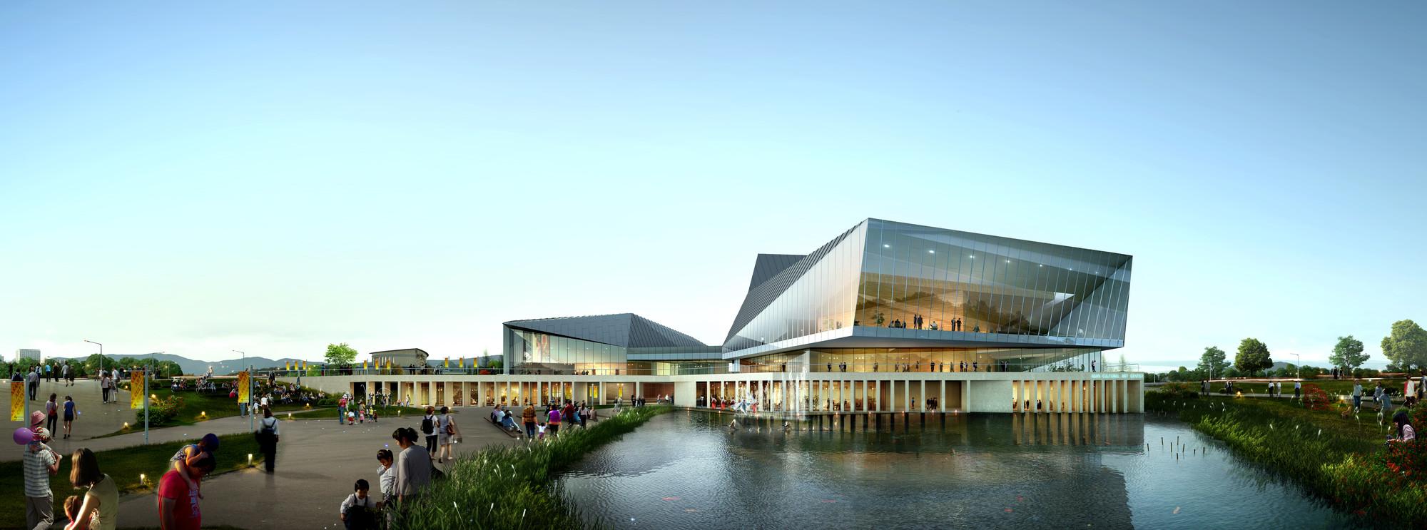 Designcamp Moonpark Dmp Wins Competition For Asan Cultural