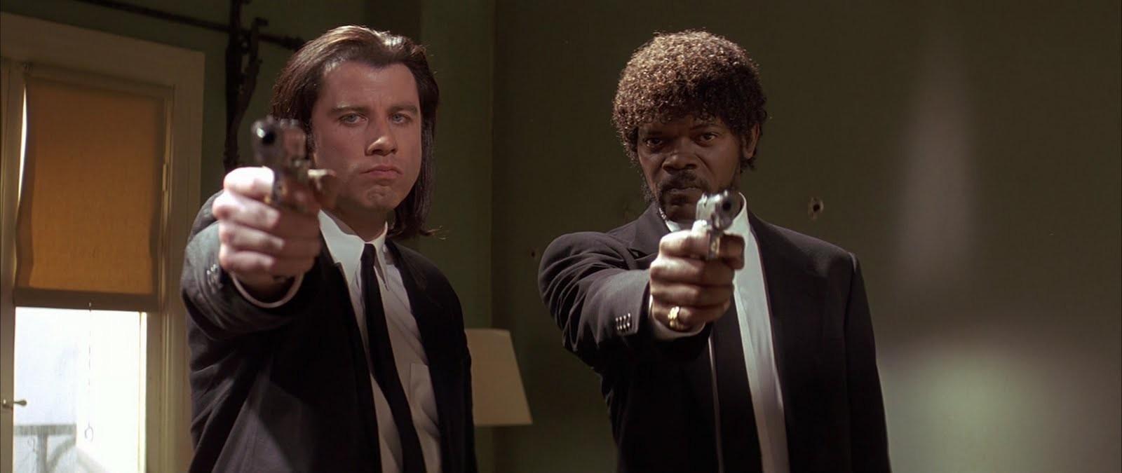 Cine y Arquitectura: Rem Koolhaas y los tiempos violentos , Video captura de la película Pulp Fiction (1994) de Quentin Tarantino
