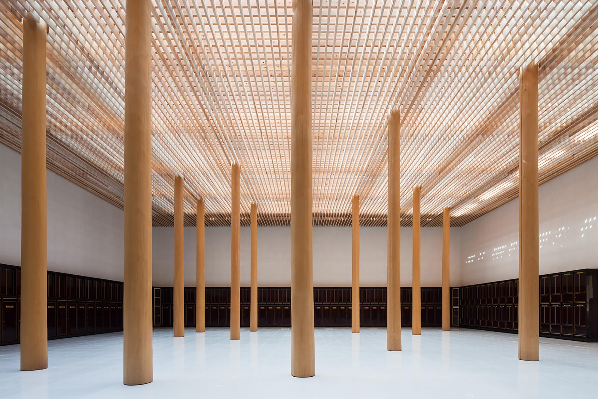 Columbario Myoenji  / Furumori Koichi architectural design studio, © Shinkenchiku-sha