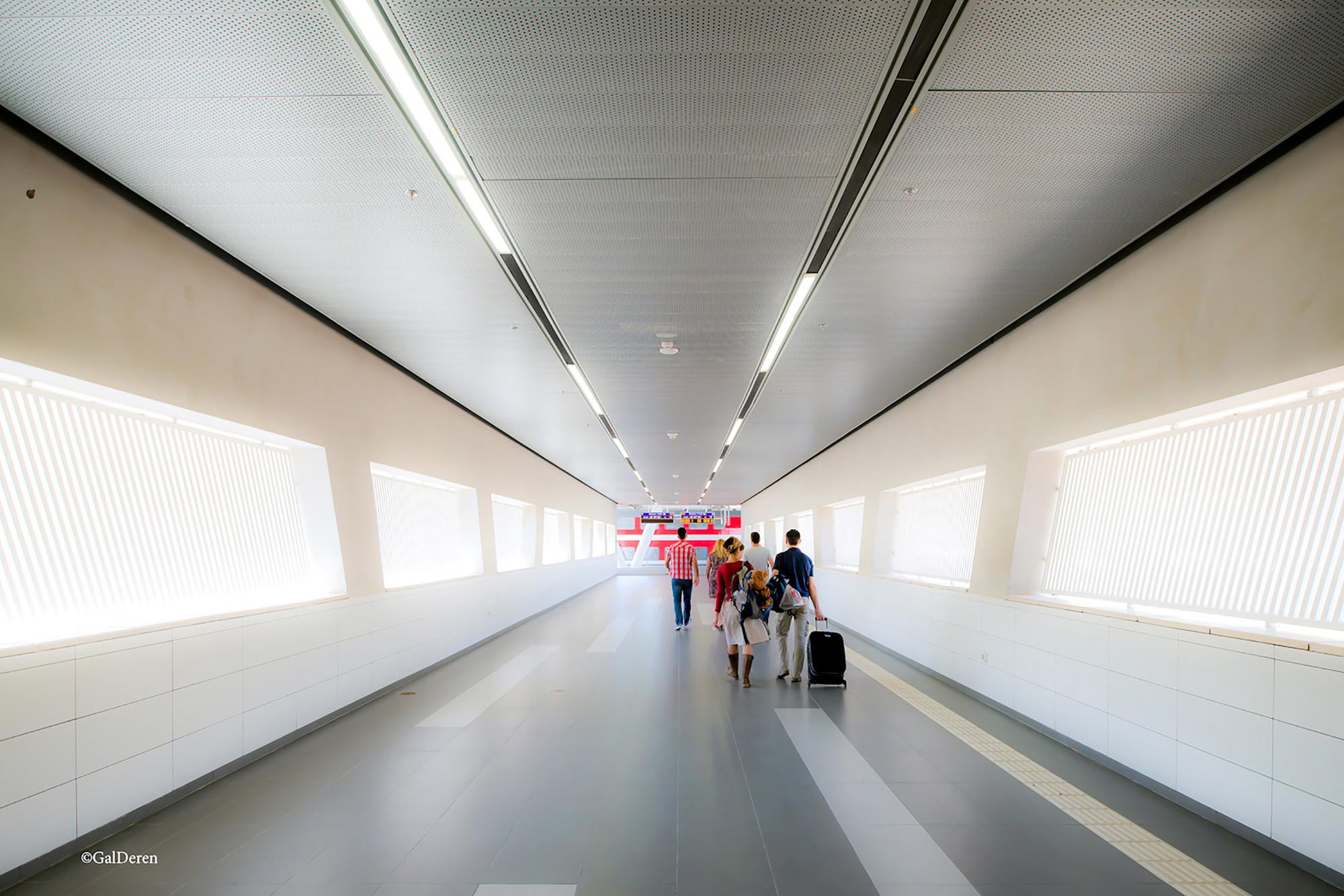 Estación de Trenes de Sderot / Ami Shinar - Amir Mann Architects and Planners