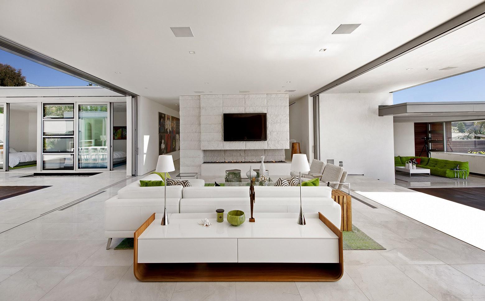 Mcelroy house ehrlich architects ehrlich yanai rhee - Limposante residence contemporaine de ehrlich architects ...