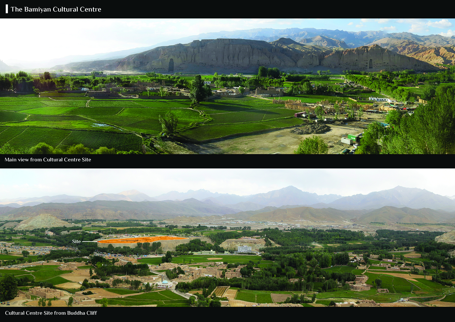 UNESCO lanza concurso de diseño para el Centro Cultural de Bamiyan en Afganistán