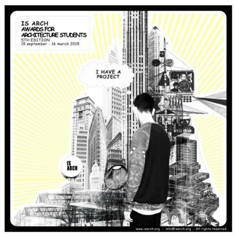 Convocatoria: V edición de los premios ISARCH para estudiantes de arquitectura