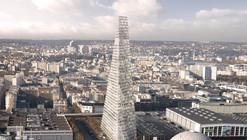 """Paris' City Council Rejects Herzog & de Meuron's 180-Meter """"Triangle Tower"""""""