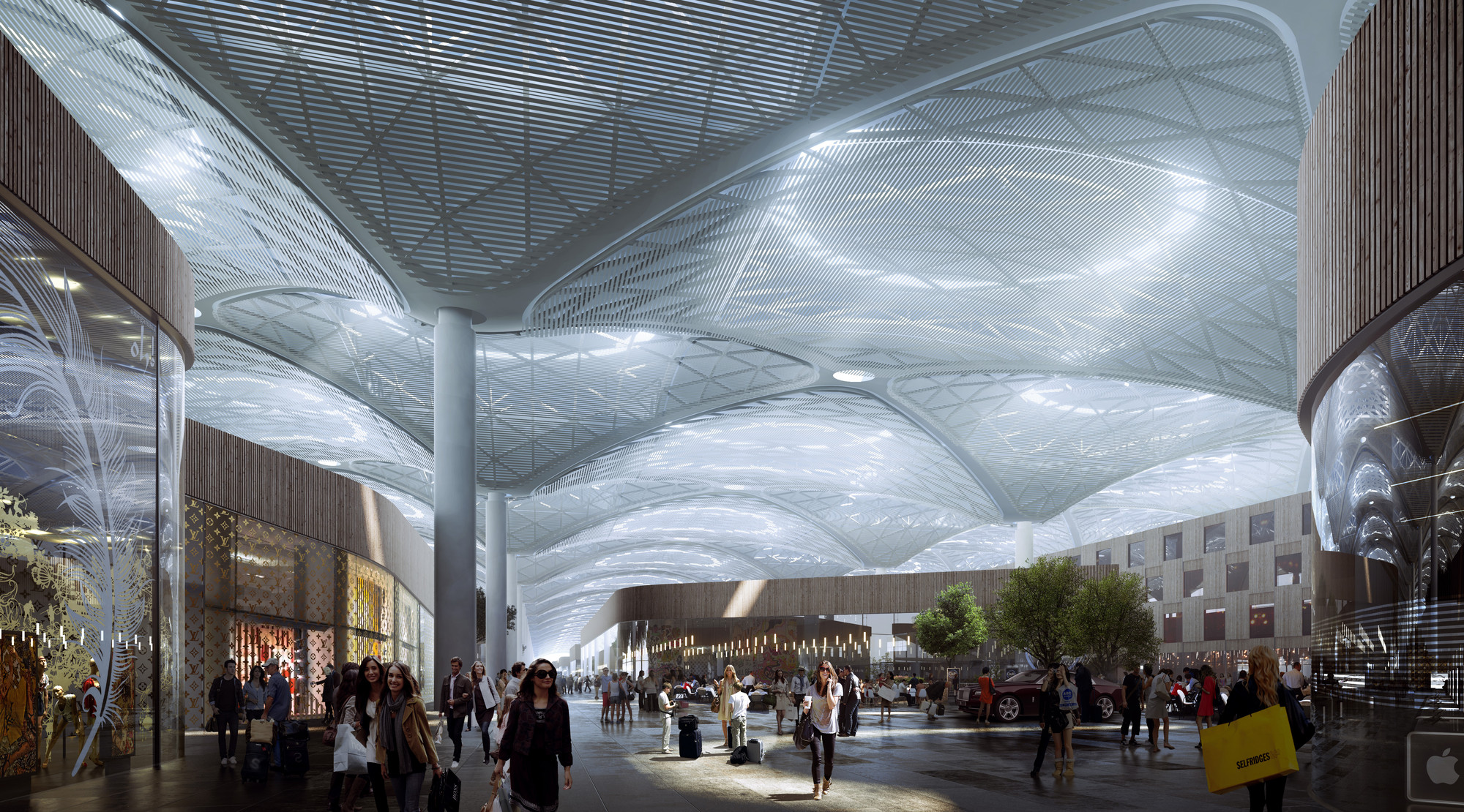 Grimshaw Releases New Images Of World S Largest Airport