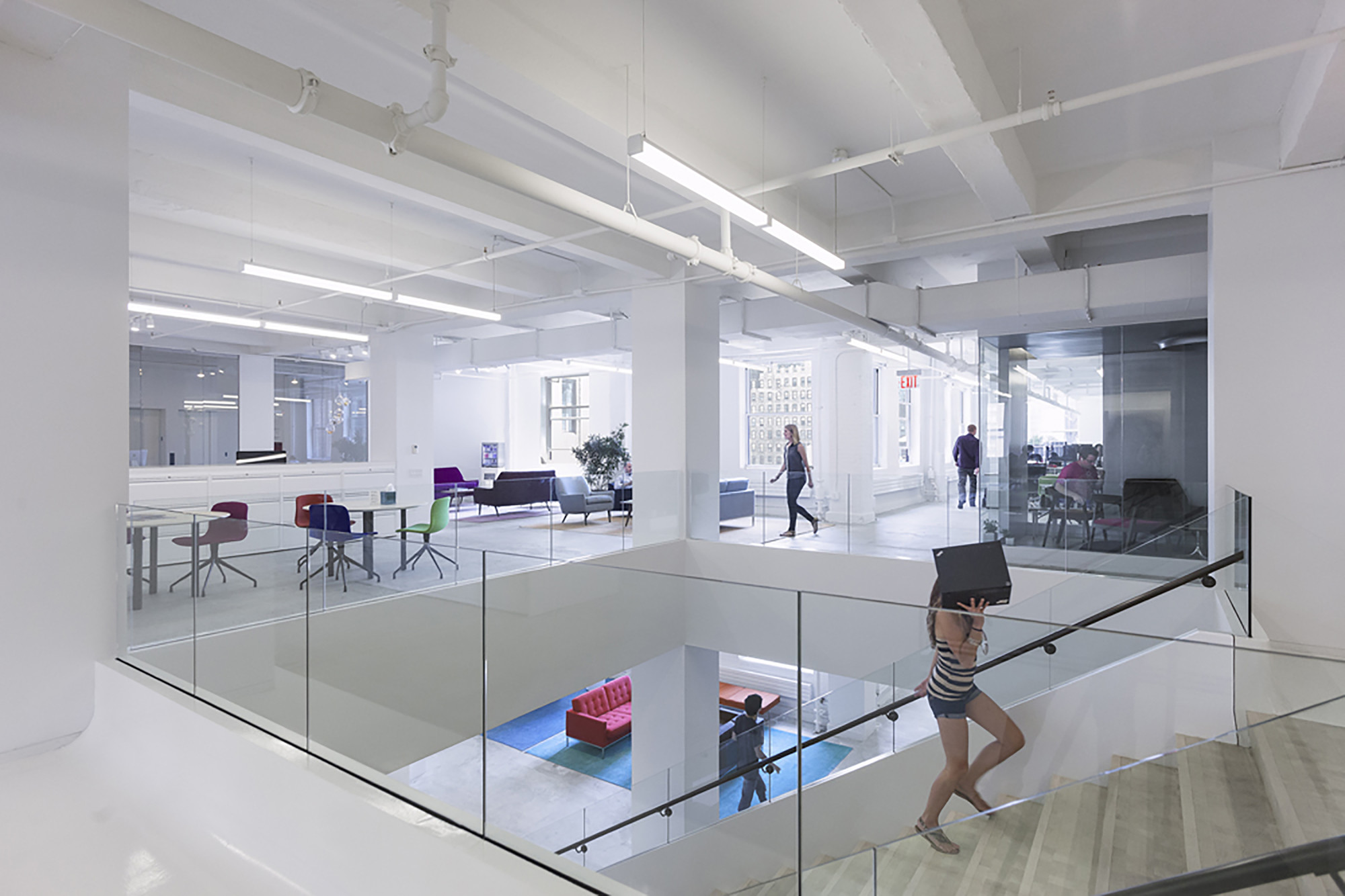 Red Bull Offices red bull's new york offices / inaba | archdaily