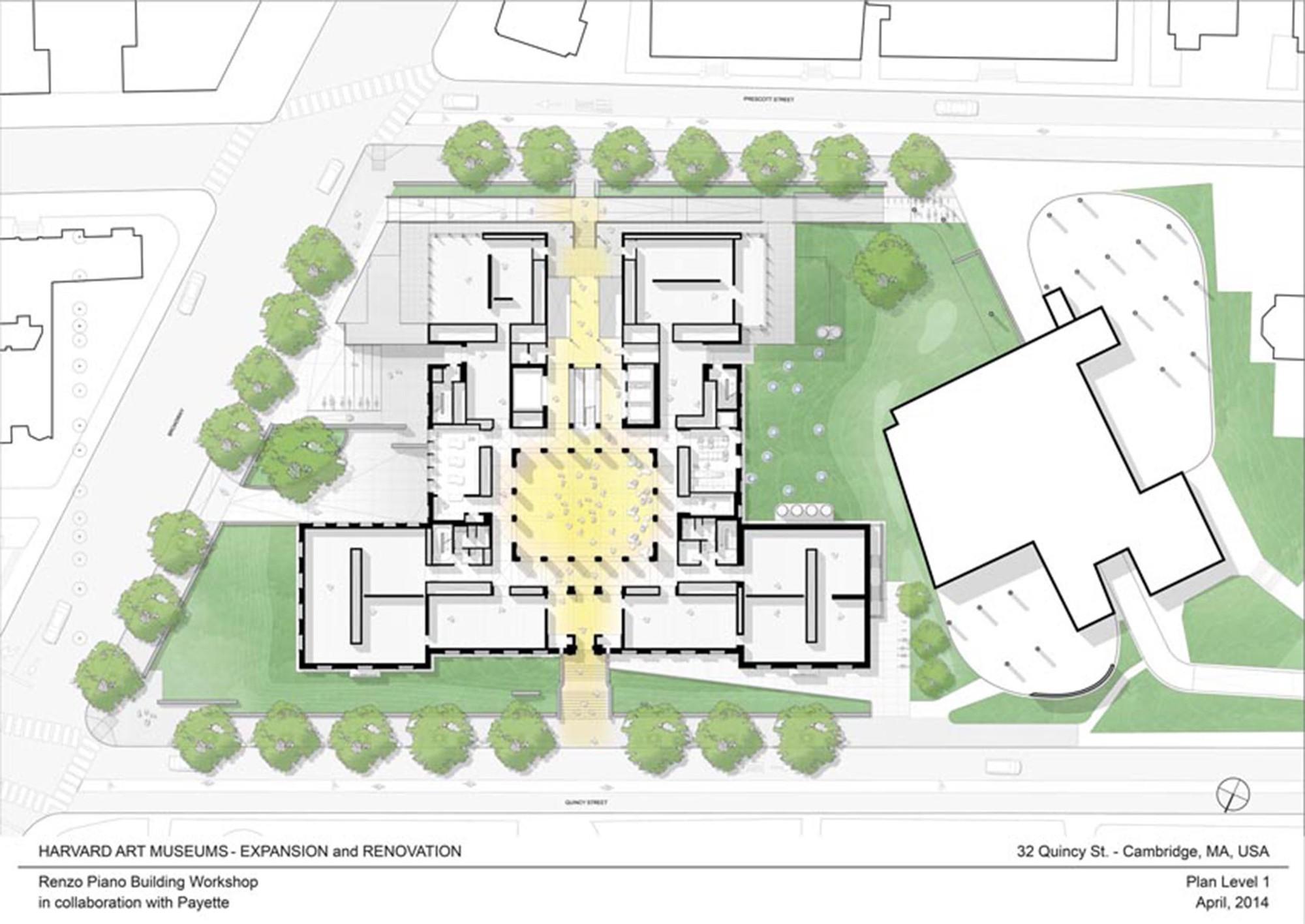 Denver Art Museum Floor Plan Galeria De Reforma E Expans 227 O Dos Museus De Arte De