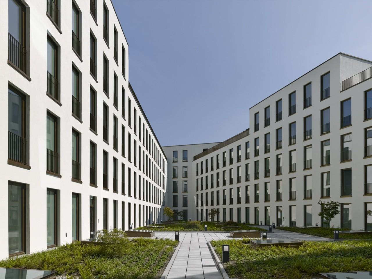 Edificio de oficinas Richtiring / Max Dudler, © Stefan Müller