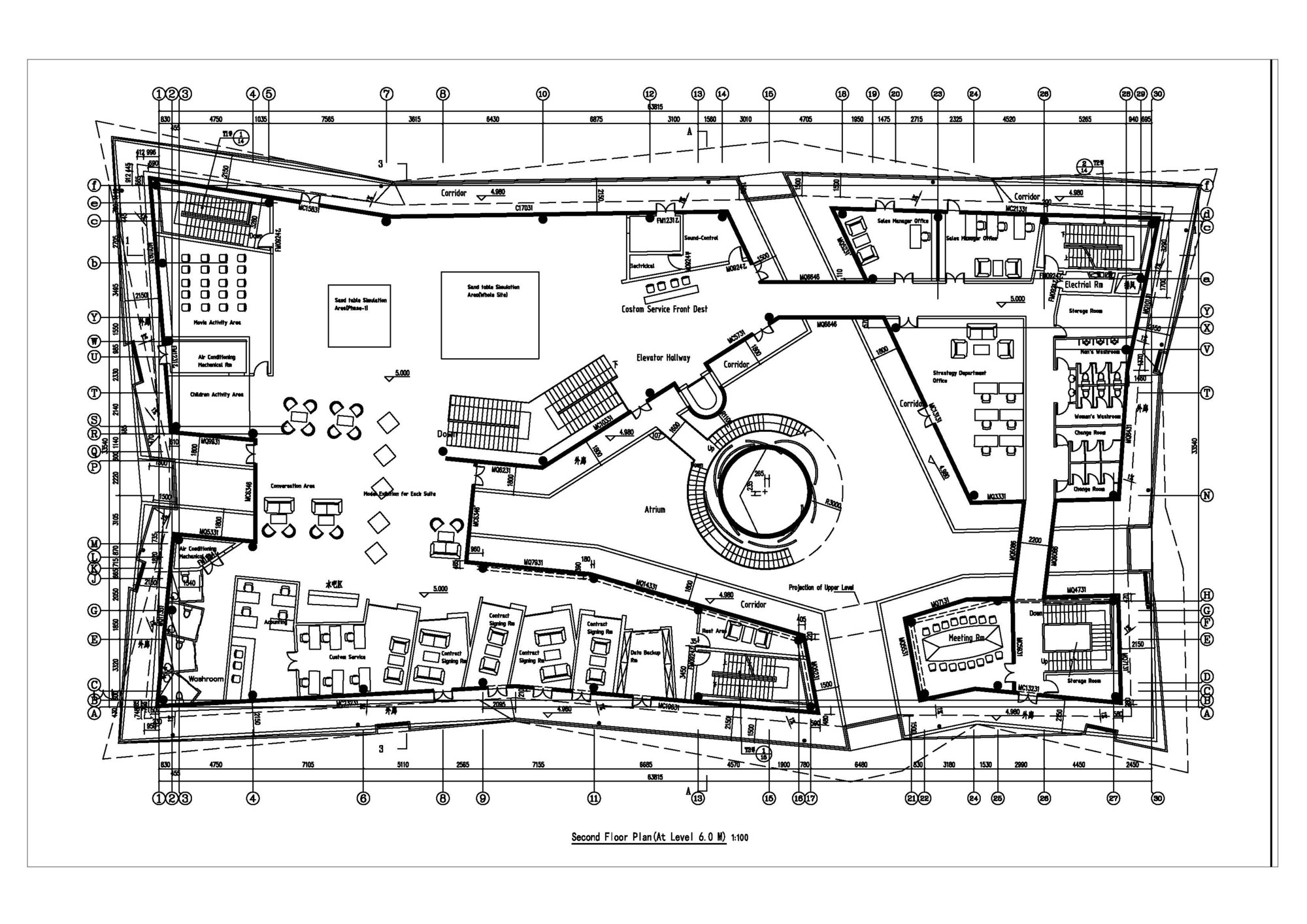 Gallery of vanke sales center fa ade renovation shenzhen Architectural design ltd