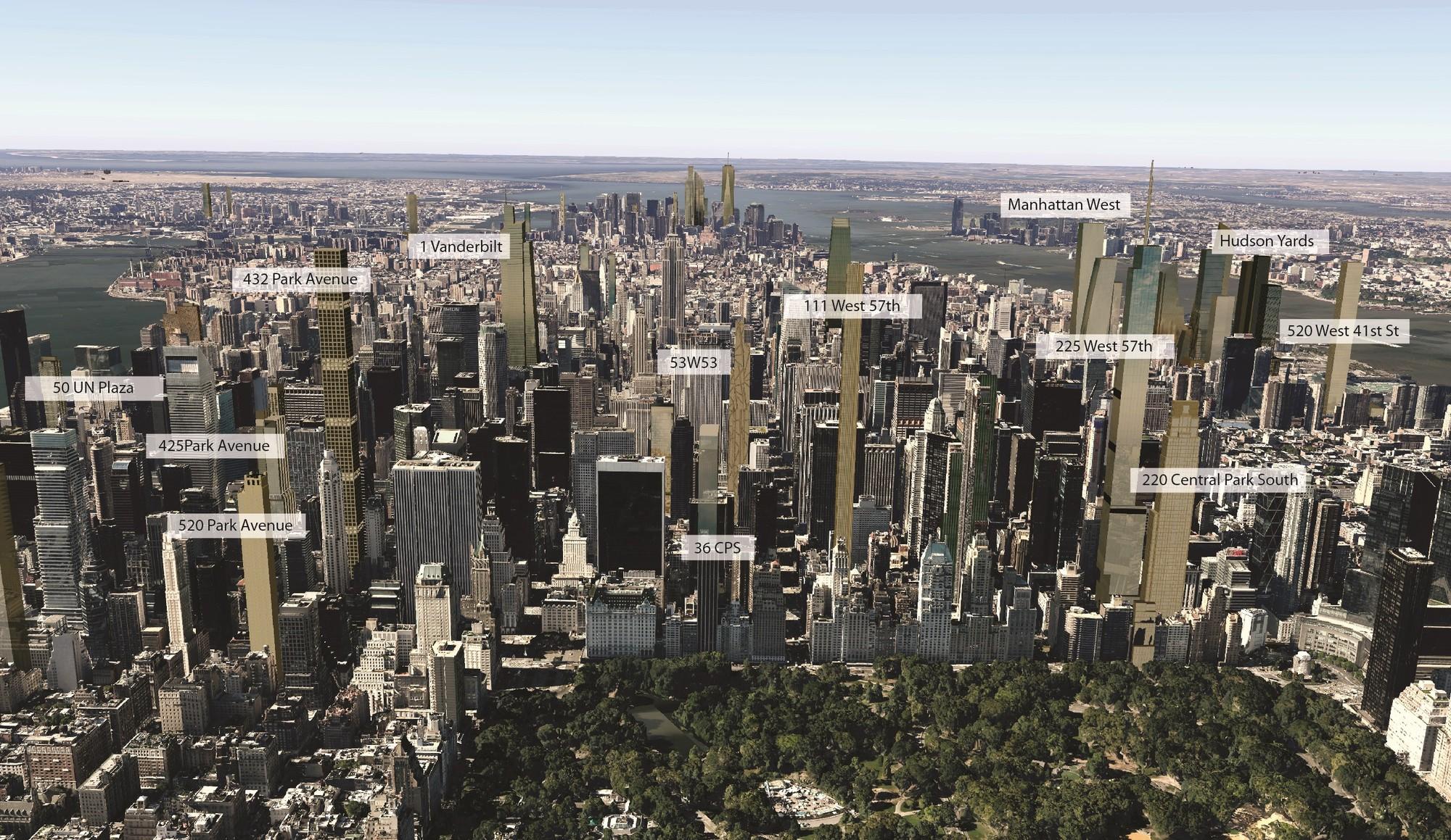 Imagens do skyline de nova iorque em 2018 archdaily brasil for Ohrensessel york big