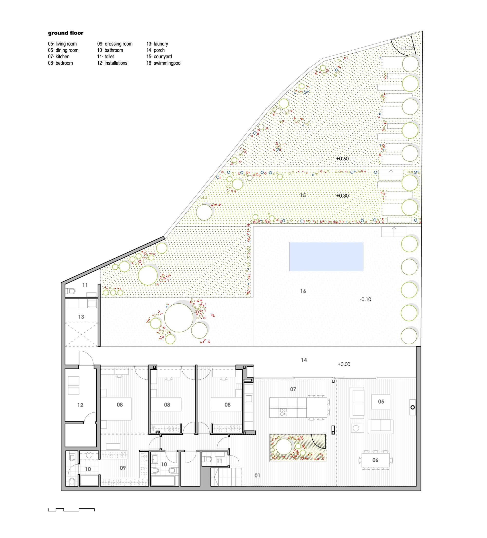 Gallery of Single Family House with Garden DTR Studio Arquitectos 15
