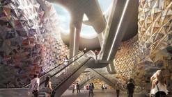 Miralles Tagliabue EMBT, primer lugar en futura estación de Metro Clichy-Montfermeil / París