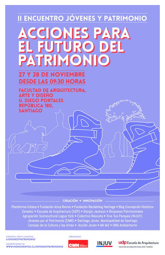 Segundo Encuentro Nacional de Jóvenes y Patrimonio / Santiago, Chile