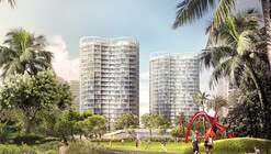 """Three OMA-Designed """"Park Grove"""" Towers to Rise in Miami"""