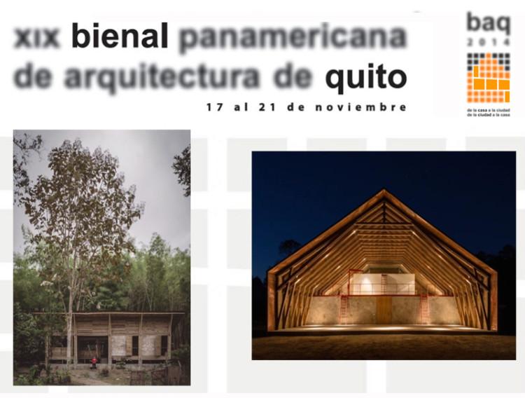 Vencedores da XIX Bienal Panamericana de Arquitetura de Quito - BAQ 2014, Cortesía de BAQ 2014
