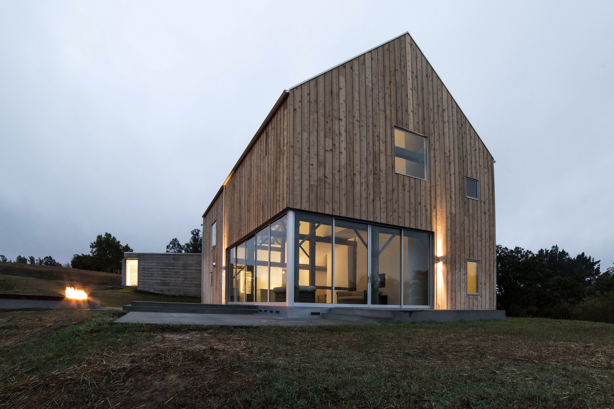 Sebastopol barn house anderson anderson architecture archdaily - Barn house decor ...