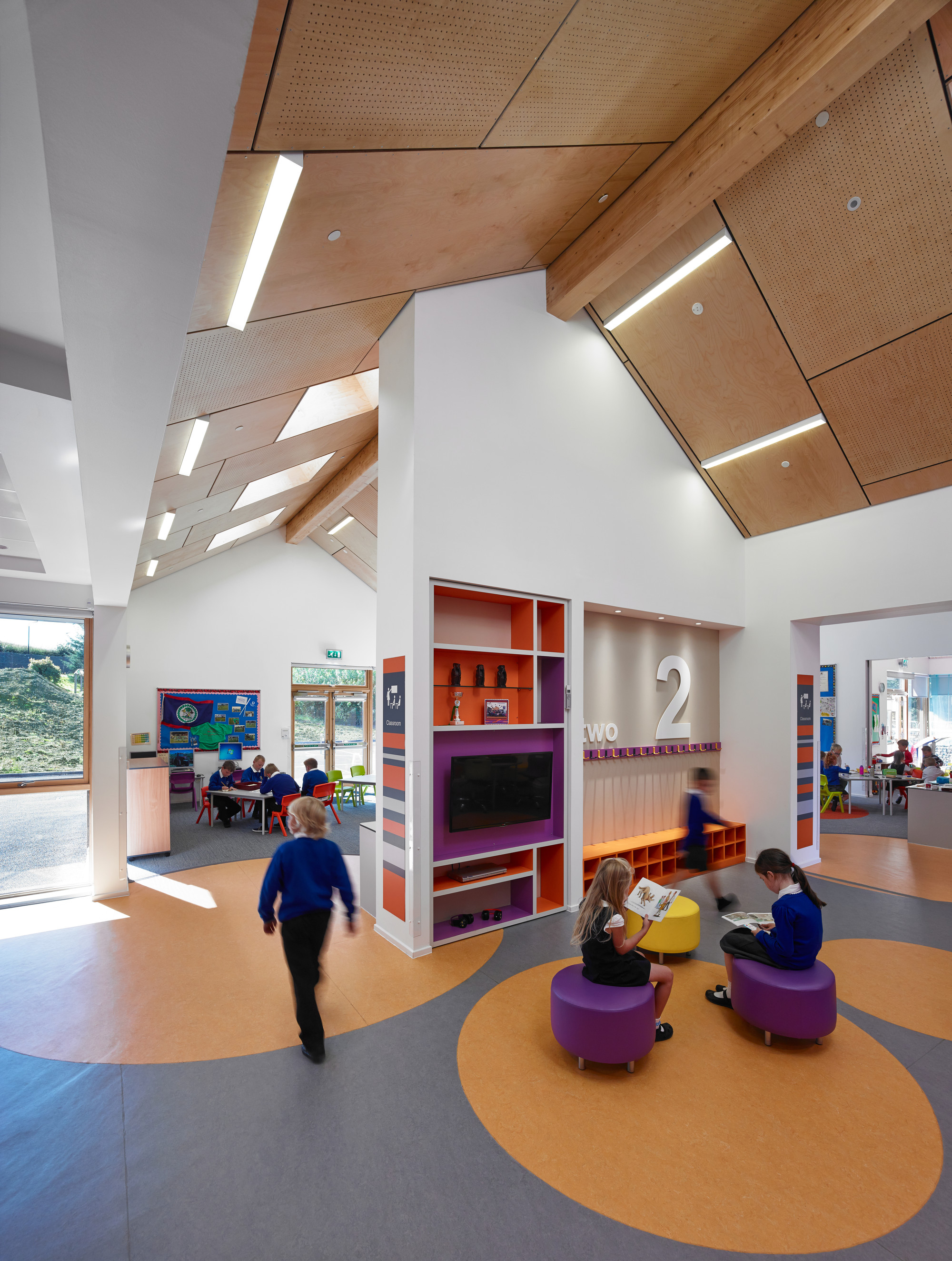 Gallery of kirkmichael primary school holmes miller 1 for Architect education