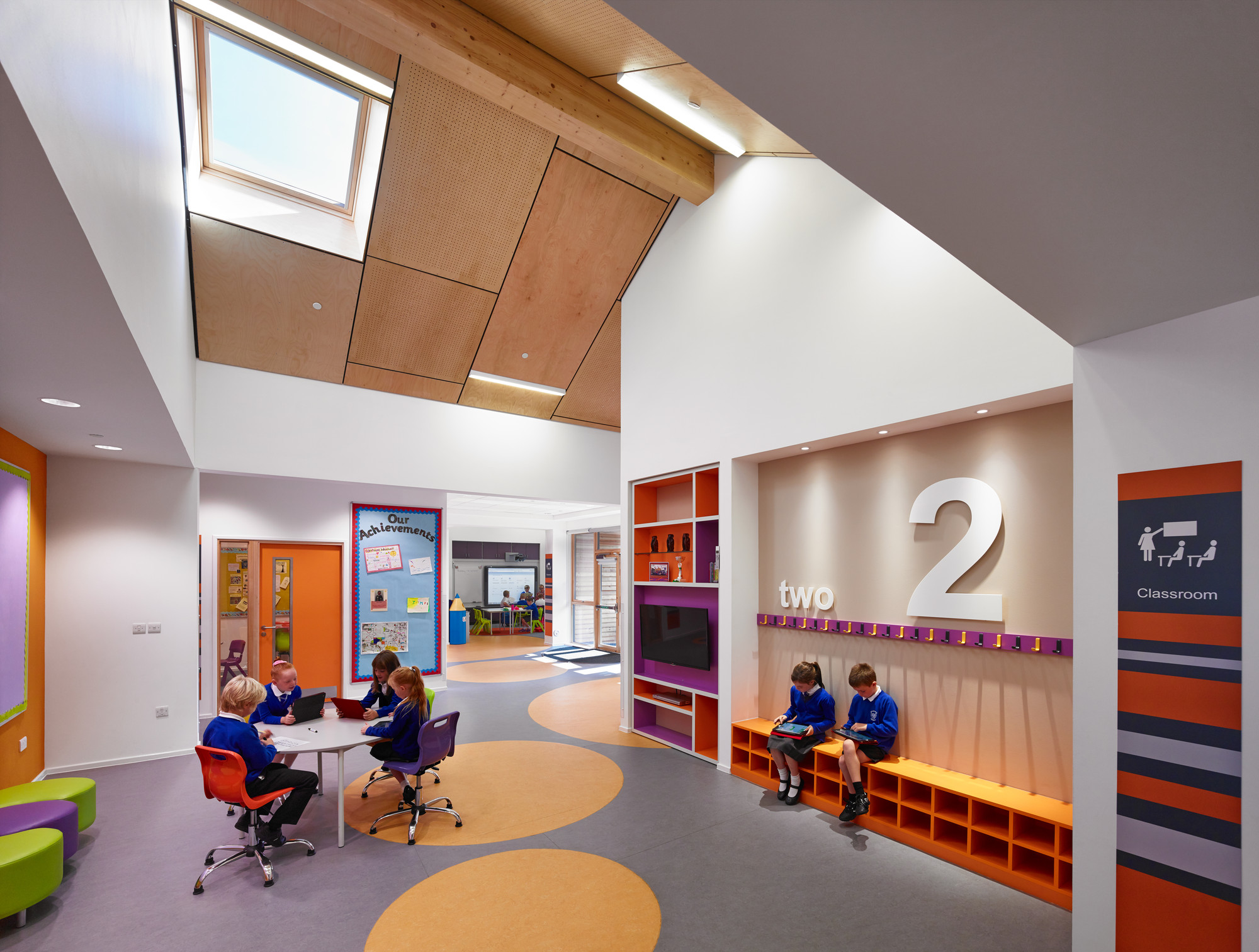 Kirkmichael primary school holmes miller archdaily for Nanawall plan