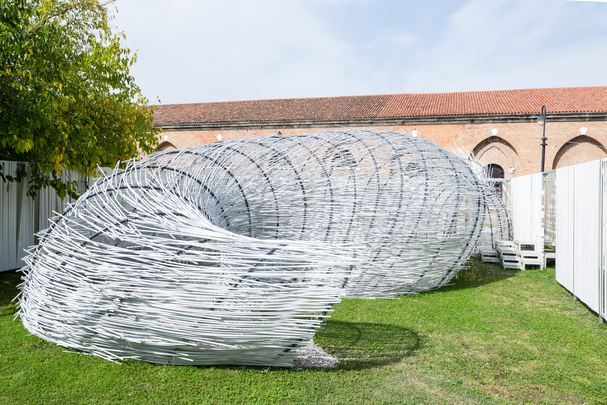 "TCA Think Tank Creates ""Parasite Pavilion"" With Five-Day Workshop in Venice, © Marco Cappelletti"