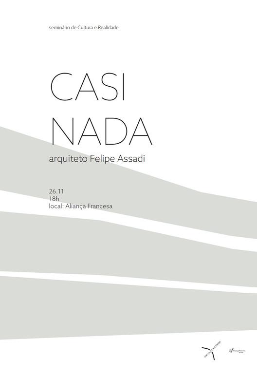 Palestra com Felipe Assadi na Escola da Cidade, Cortesia de Escola da Cidade