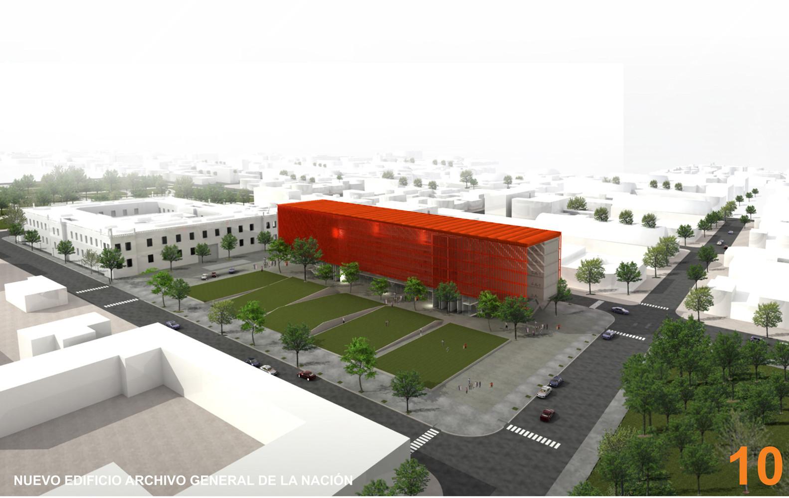 Segundo Premio Concurso para la Construcción del Nuevo Edificio Archivo General de la Nación / Marchisio+Nanzer Estudio de Arquitectura