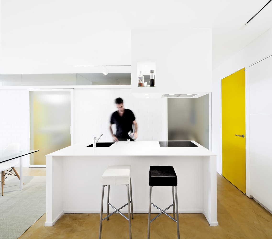 Apartamento con Veladuras / Sergio Pons