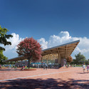 Powerhouse Company and De Zwarte Hond Selected to Redesign Assen Station Entrance . Image © Powerhouse Company and De Zwarte Hond