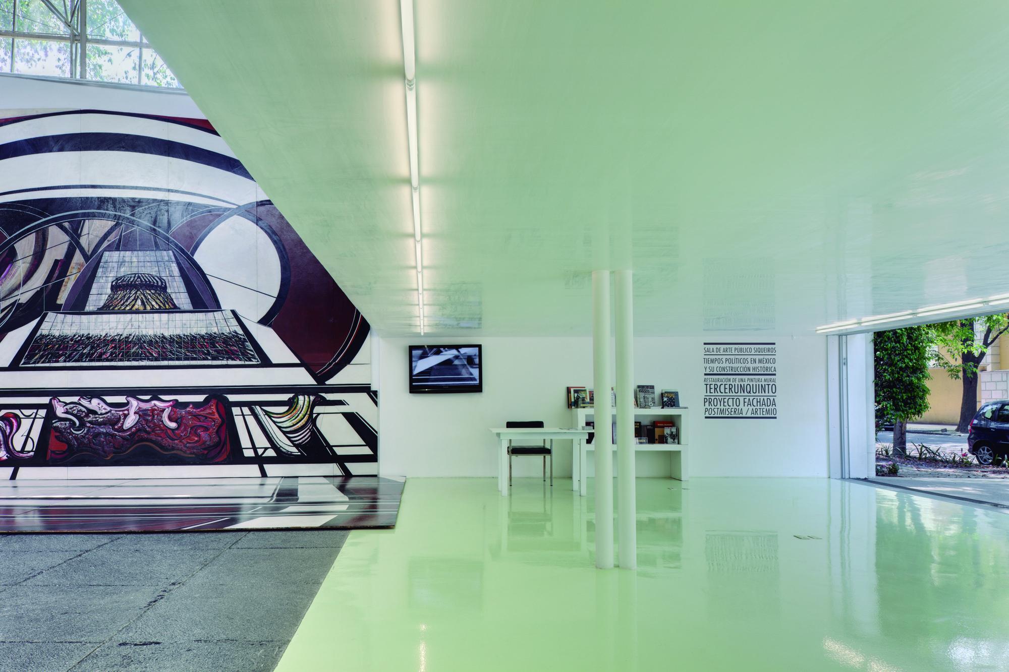 Sala de Arte Público Siqueiros / arquitectura 911sc + Esrawe | ArchDaily Perú