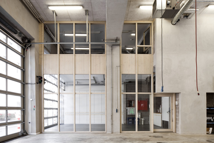 City fire station antwerp hub archdaily