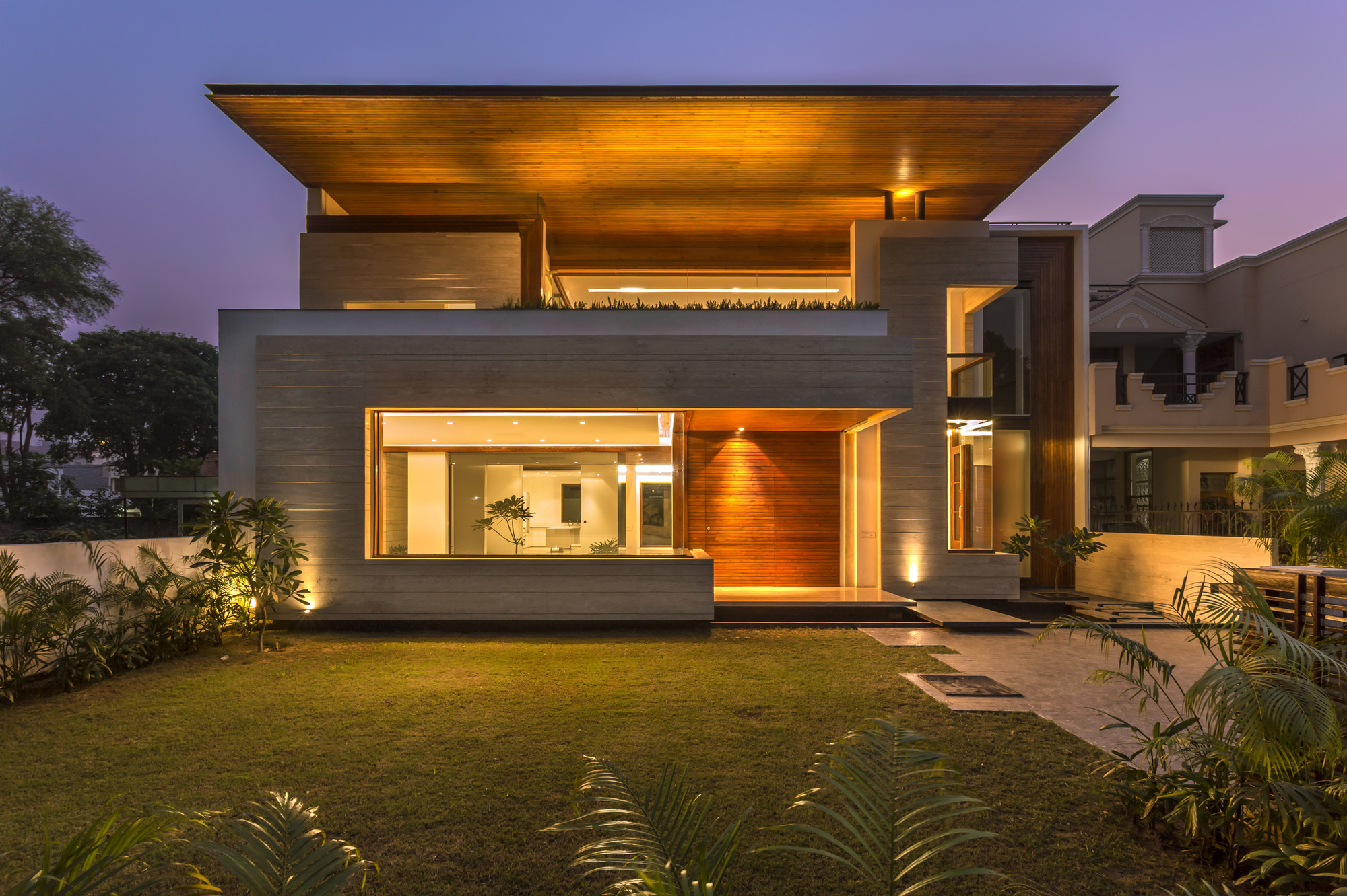 Gallery of House in Mohali / Charged Voids - 3
