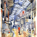 """Borough Market November 14"" by Nick Hirst. Image Courtesy of Maggie's"